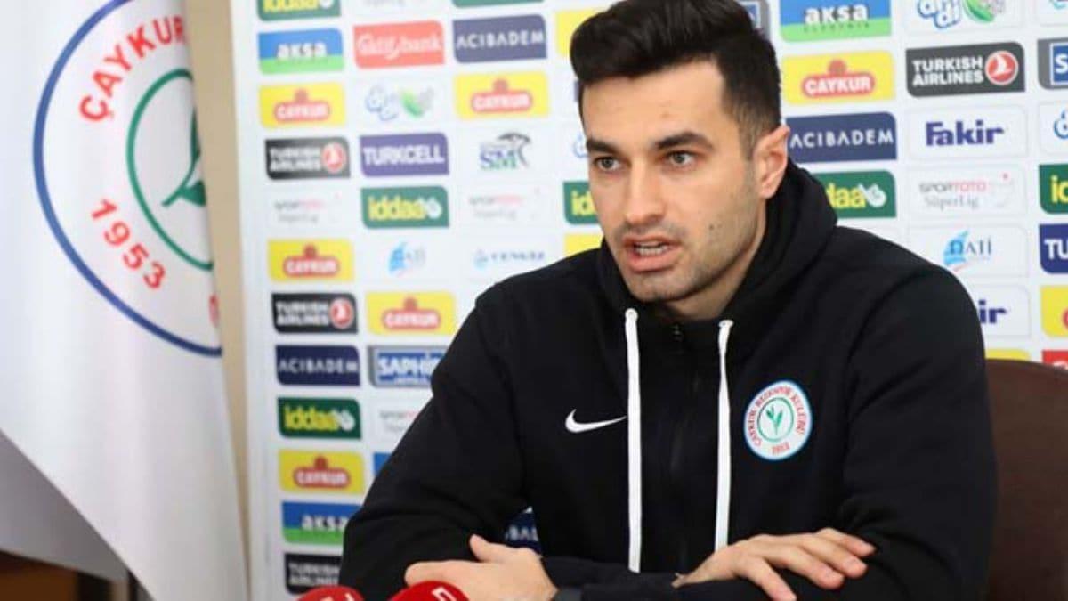 Çaykur Rizespor kalecisi Gökhan Akkan'dan Galatasaray iddiası