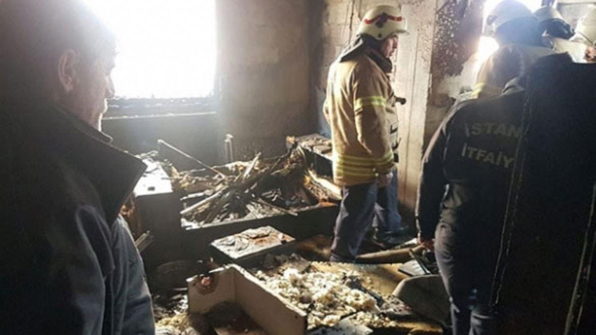 Büyükçekmece'de 4 katlı binada patlama