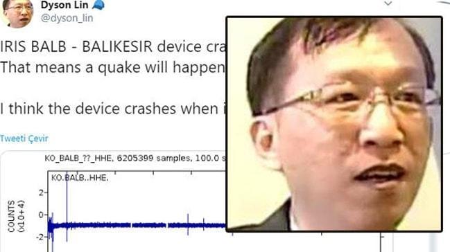Tayvanlı Dyson Lin deprem kehanetlerinde bulunuyordu... Bu kez depremi tutturdu