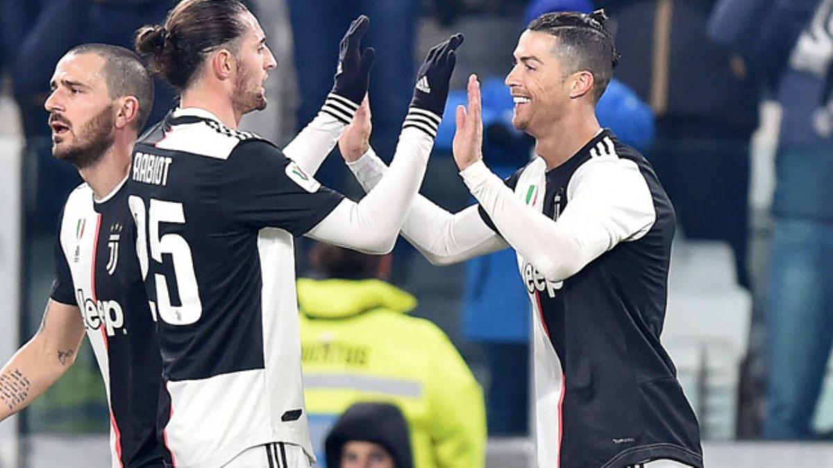 Juventus, Roma'yı kupanın dışına itti