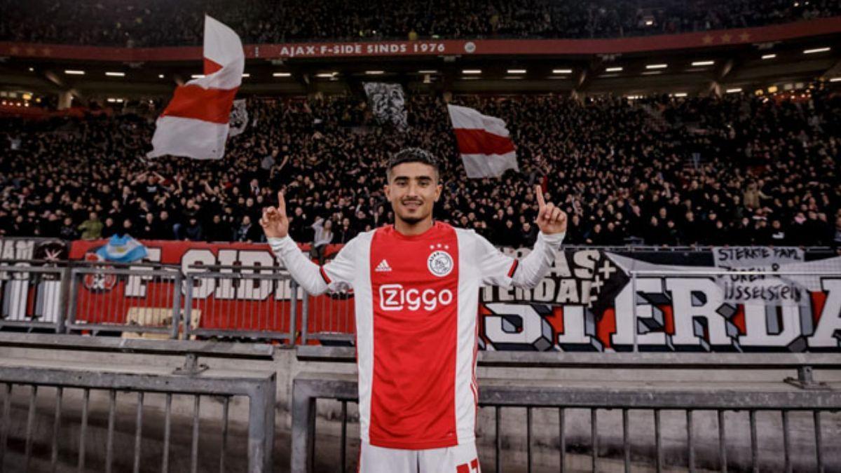 Naci Ünüvar Ajax formasıyla ilk maçında gol attı