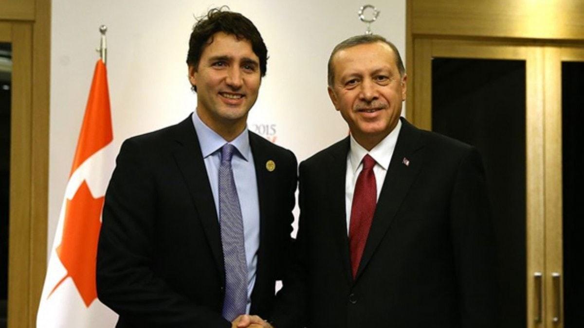 Başkan Erdoğan, Kanada Başbakanı Trudeau ile görüştü