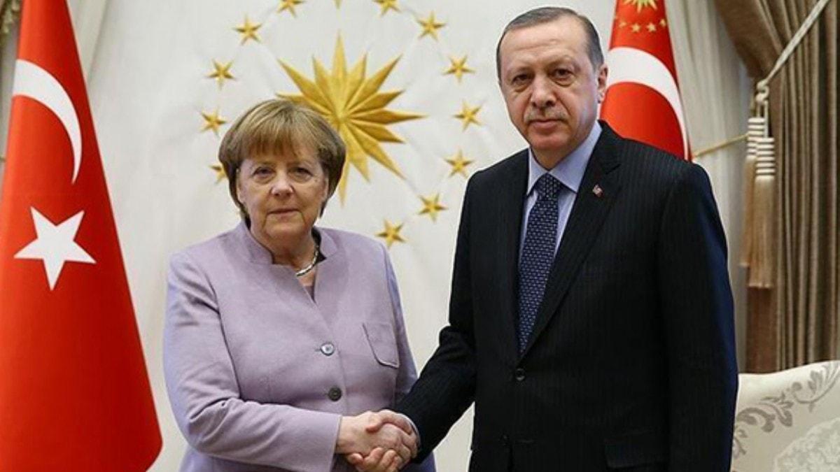 Başkan Erdoğan, Merkel ile görüşecek