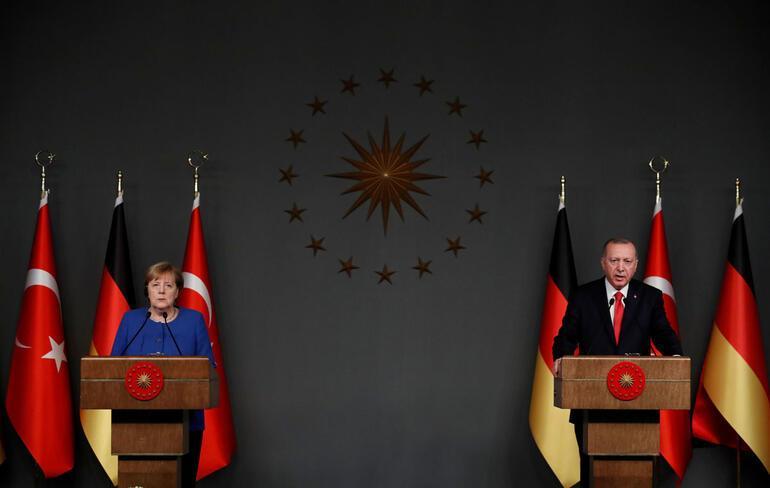 Başkan Erdoğan ve Merkel'den flaş açıklamalar