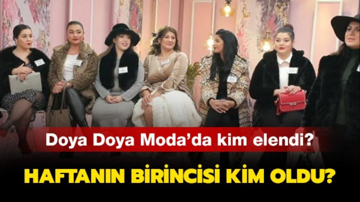 Doya Doya Moda'da elenen isim açıklandı