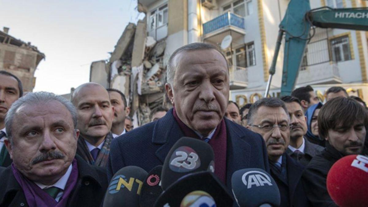 Başkan Erdoğan: Vatandaşlarımızı çelik konstrüksiyonla kalıcı konutlarına alacağız