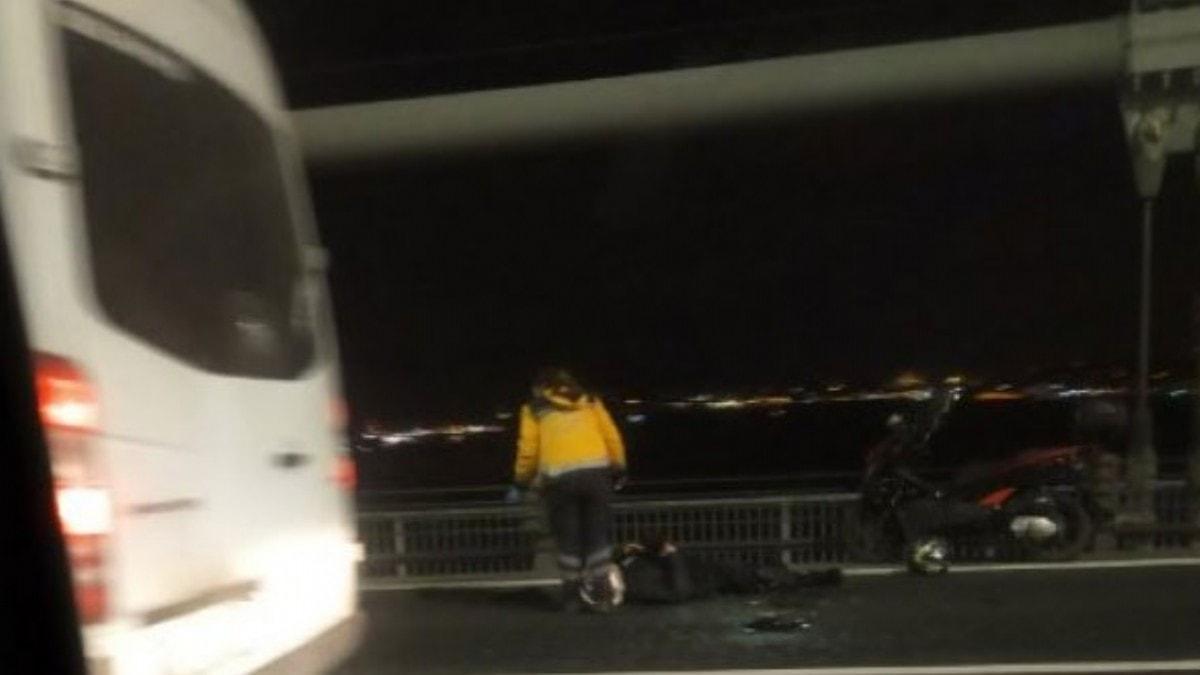 Otomobilde tartıştığı kız arkadaşını öldürüp köprüden atladı
