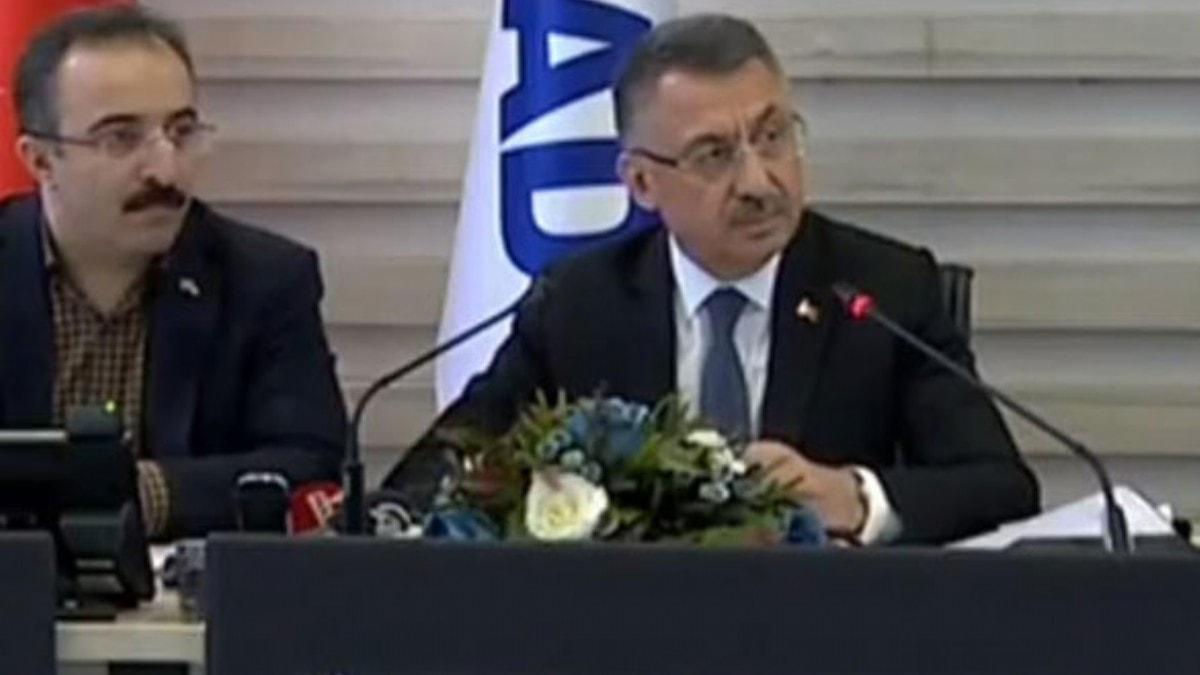 Cumhurbaşkanı Yardımcısı Oktay: Hayatını kaybedenlerin sayısı 35'e yükseldi