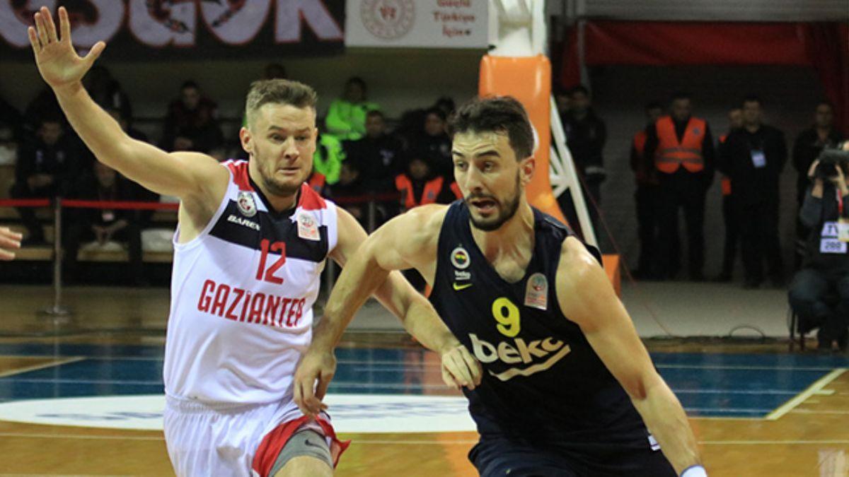 Gaziantep Basketbol, Fenerbahçe Beko'yu devirdi