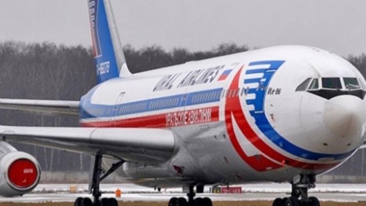 Rus yolcu uçağı 'bomba ihbarı' sonrası acil iniş yaptı