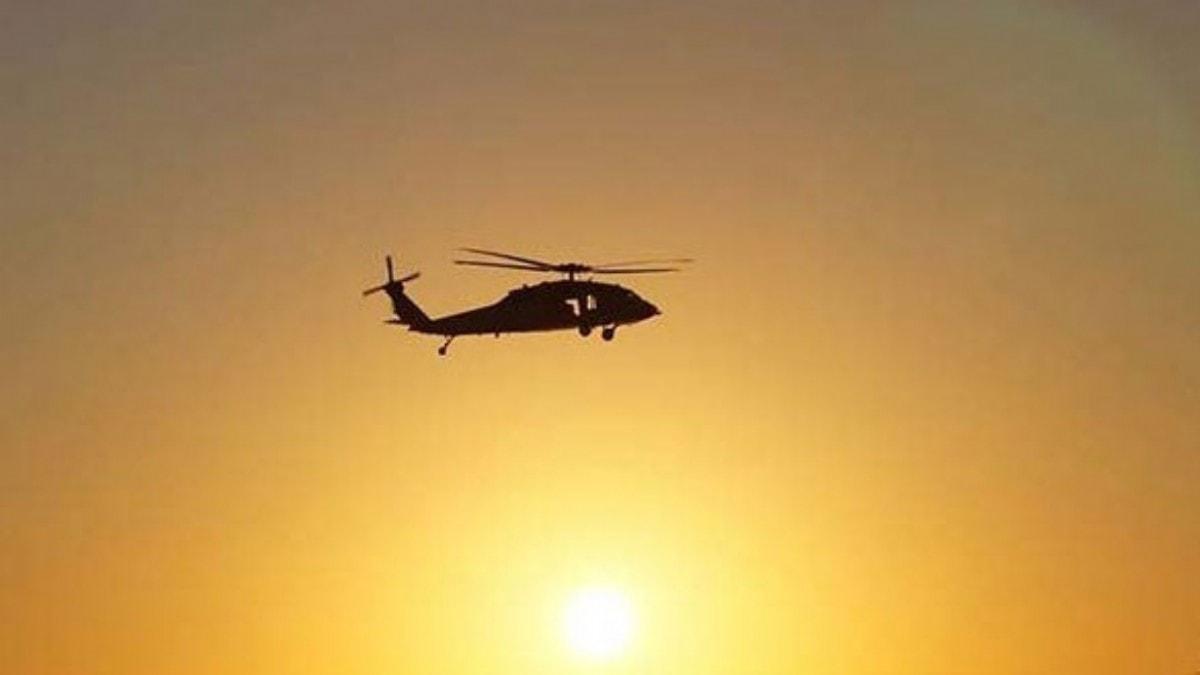 Hırvatistan'da askeri helikopter Adriyatik Denizi'ne düştü