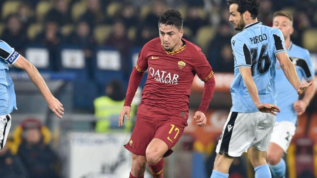 Cengiz Ünder, Roma derbisinde 'maçın oyuncusu' seçildi