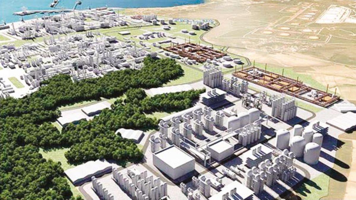 Cezayir ortaklıpetrokimya tesisi 2022'de devrede