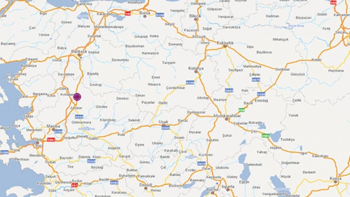 Son dakika: Manisa'da 4.8 büyüklüğünde deprem oldu