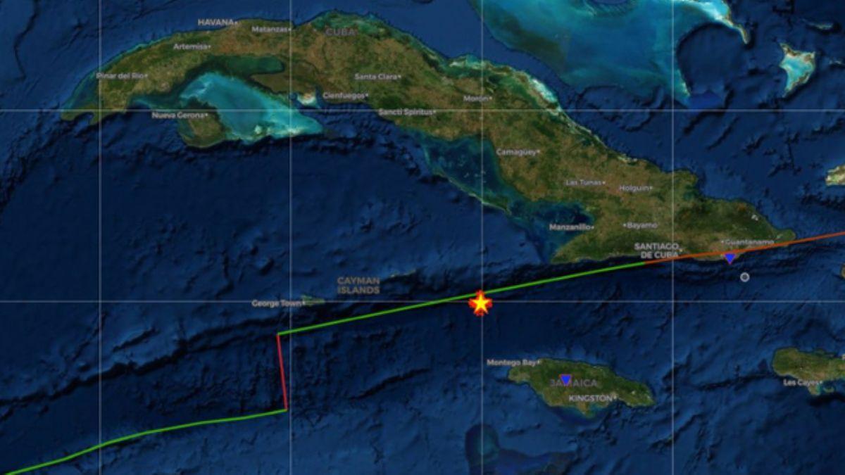 Küba'da 7,4 büyüklüğünde deprem! Tsunami uyarısı verildi