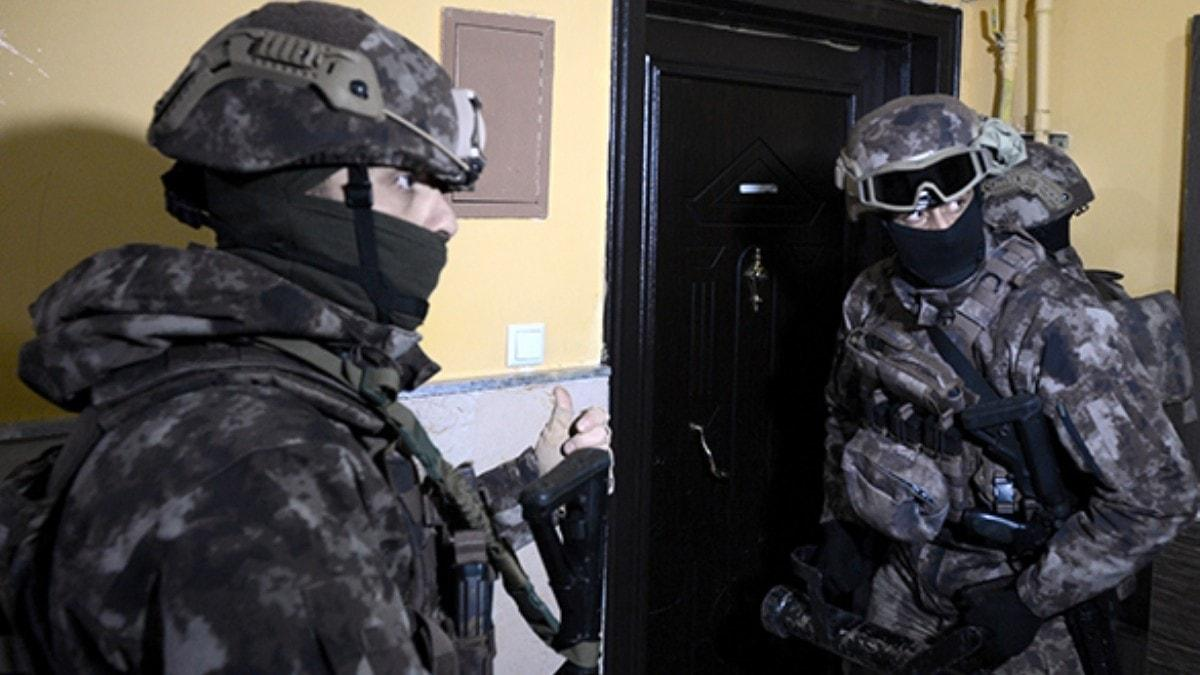 Erzurum'da uyuşturucu satıcılarına özel harekat destekli 'şafak' operasyonu
