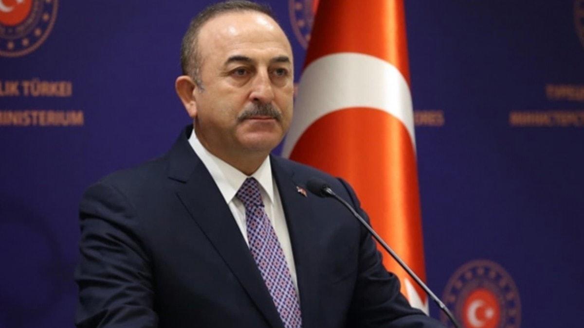 Bakan Çavuşoğlu'ndan Belçika'ya PKK tepkisi