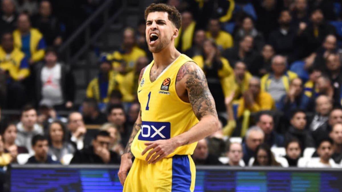 Maccabi Tel Aviv'de Scottie Wilbekin'in sözleşmesi uzatıldı