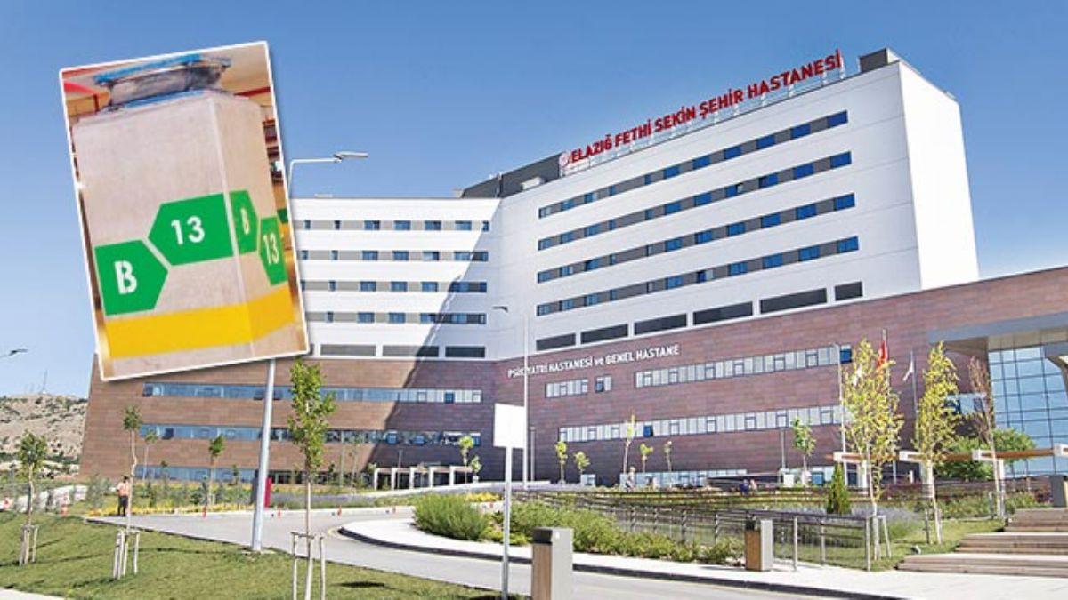 Elazığ Fethi Sekin Şehir Hastanesi'ndeki sismik izolatör 6.8'lik depremi 3.1'e indirdi