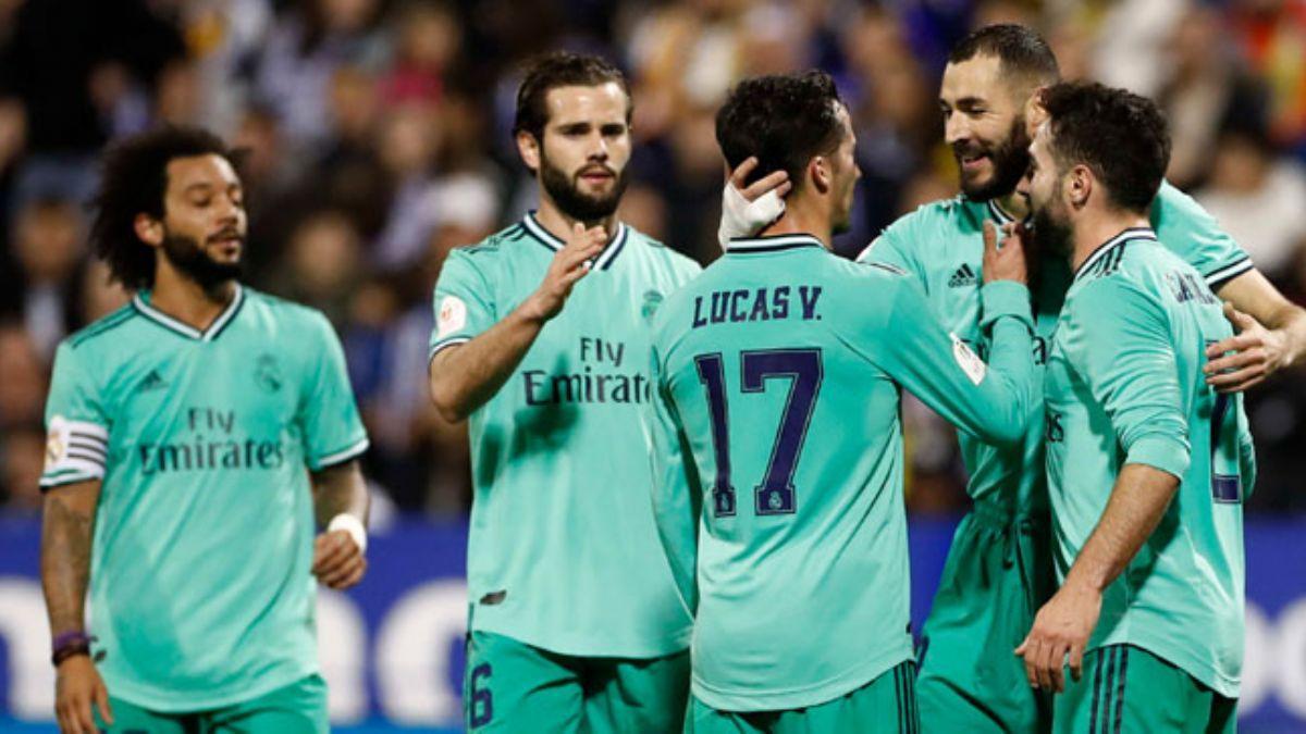 Real Madrid Kral Kupası'nda 4-0'la adını çeyrek finale yazdırdı