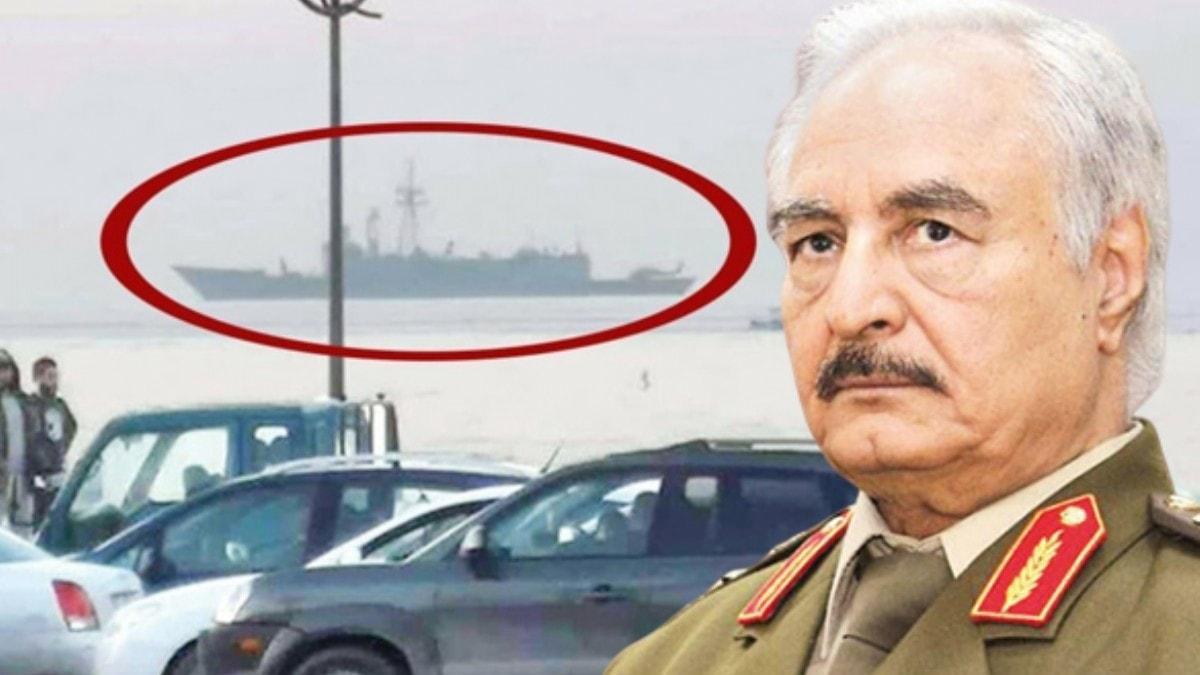 Türk donanmaları bölgede... Hafter'e gözdağı verildi
