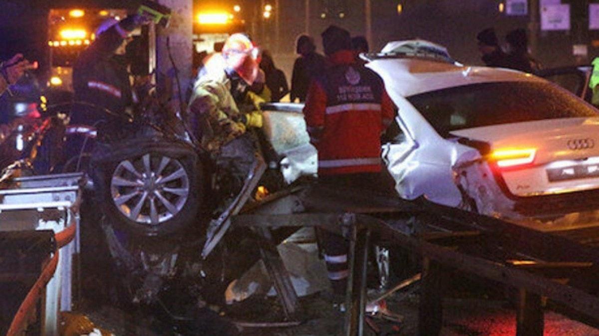 Aşırı hız facia getirdi: Sürücü olay yerinde öldü