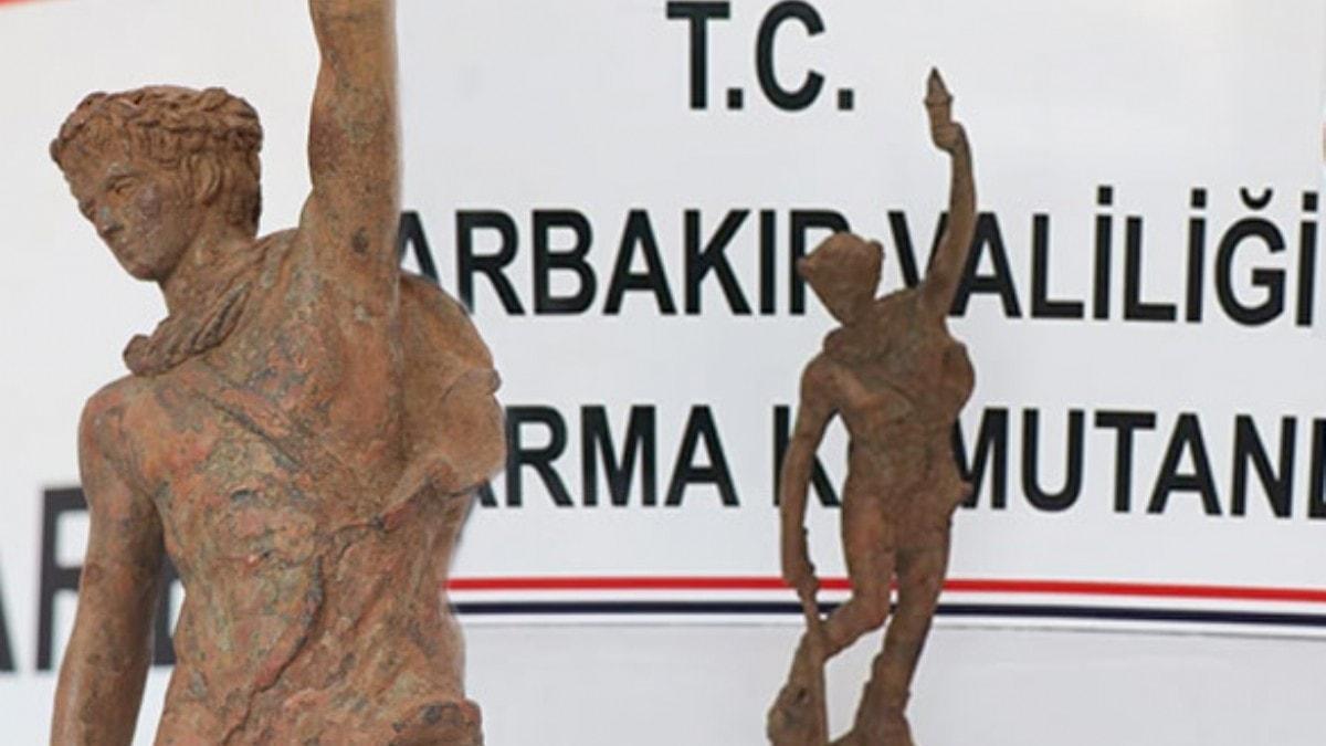 Diyarbakır'da ele geçirildi... Roma dönemine ait