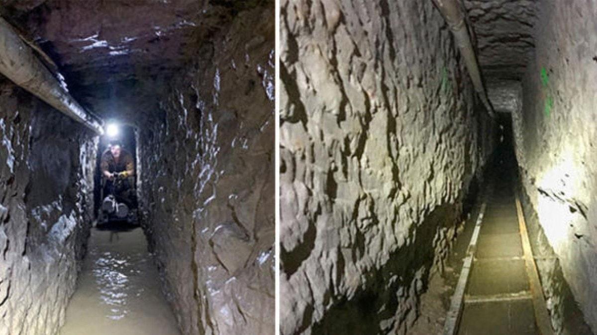 ABD ile Meksika sınırında 'en uzun' kaçakçılık tüneli keşfedildi