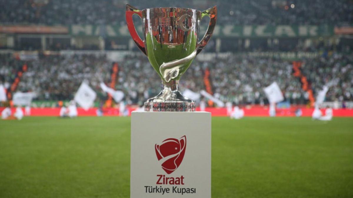 Ziraat Türkiye Kupası'nda çeyrek final ilk maçlarının programı belli oldu