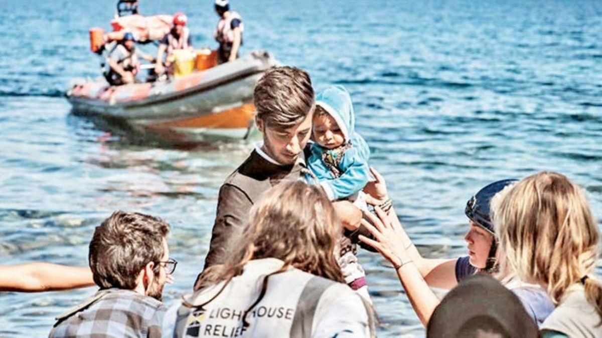 Yunanistan'ın göçmençözümü: Yüzen barikat