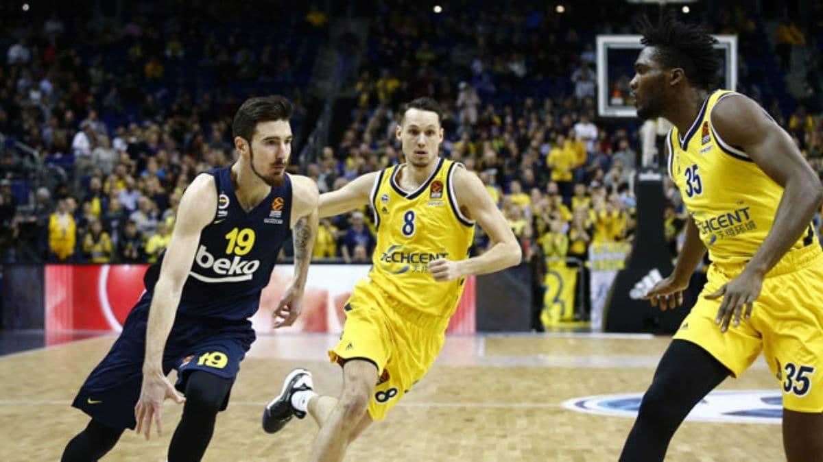 Fenerbahçe Beko, THY Euroleague'de deplasmanda ALBA Berlin'i 74-70 yendi