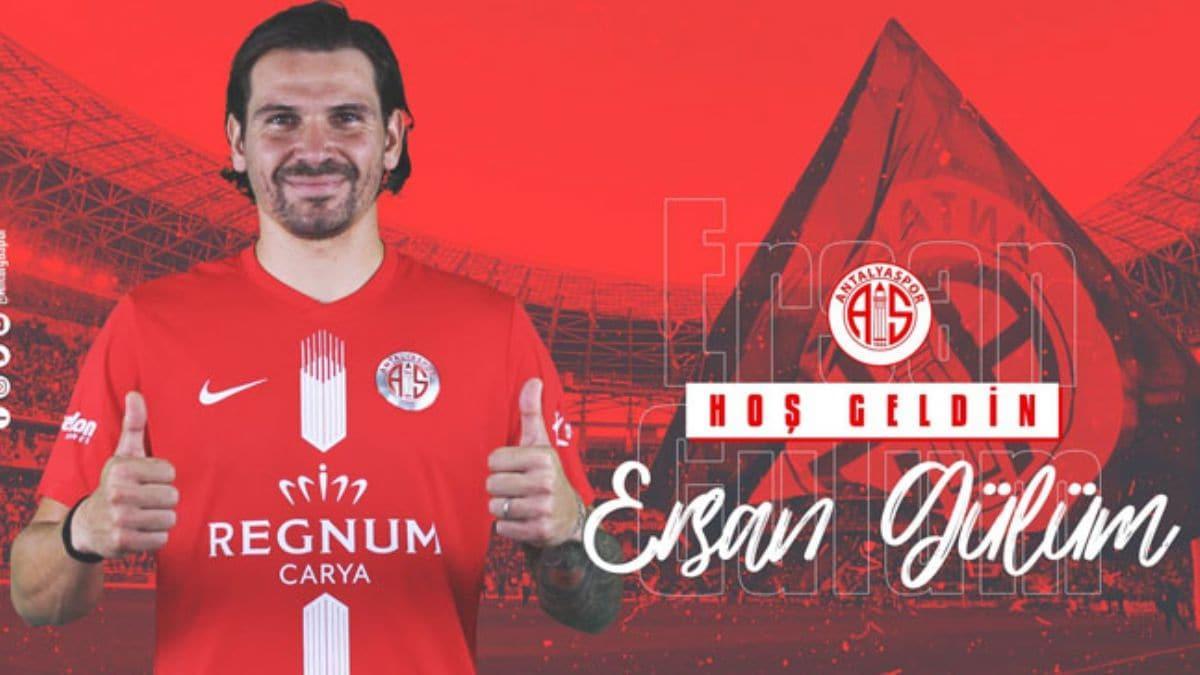 Antalyaspor Ersan Adem Gülüm ile resmi sözleşme imzaladı