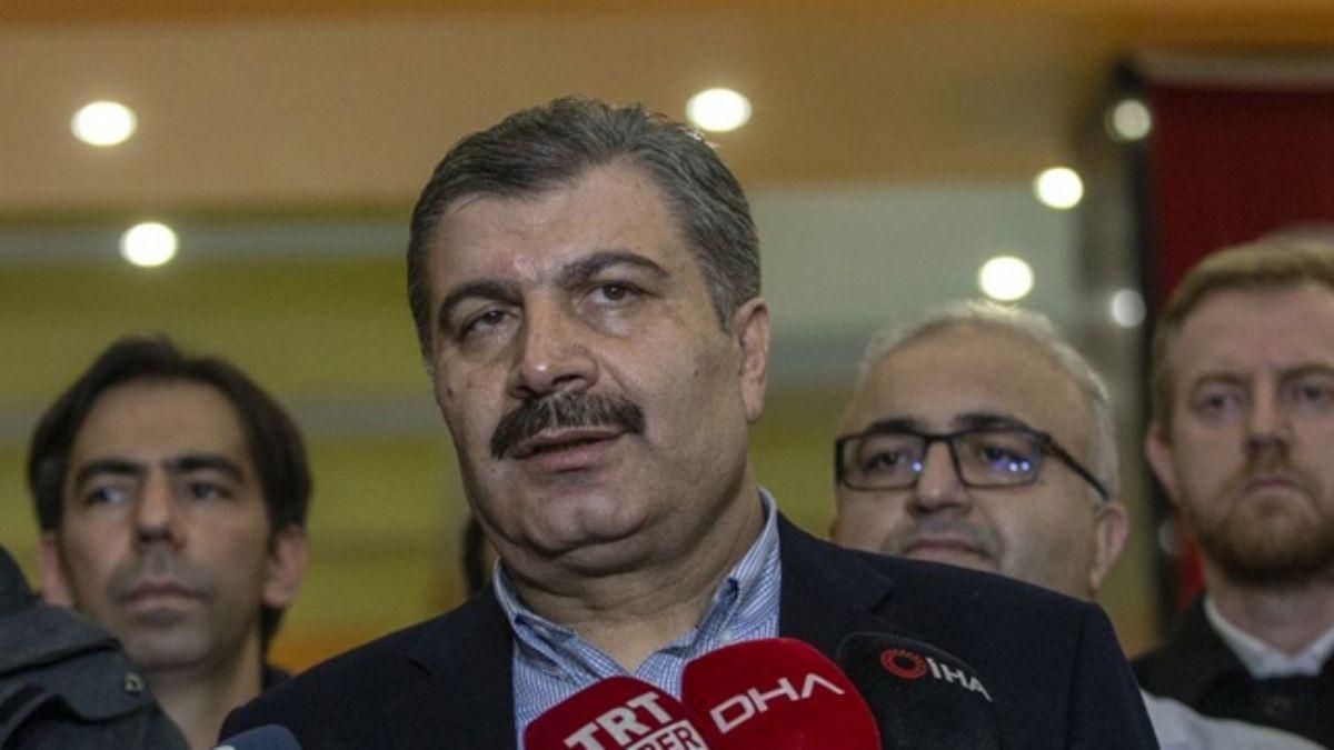 Bakan Koca'dan Wuhan'dan gelecek Türk vatandaşlarıyla ilgili önemli açıklama