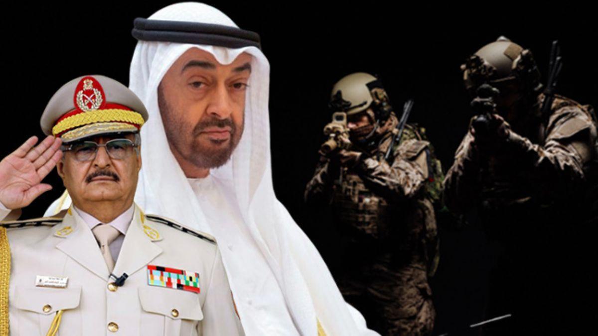 BAE diye Libya'ya götürmüşler! Black Shield'ın lejyonerleri Hafter kampında