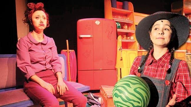 Çocuklar için tiyatro vakti