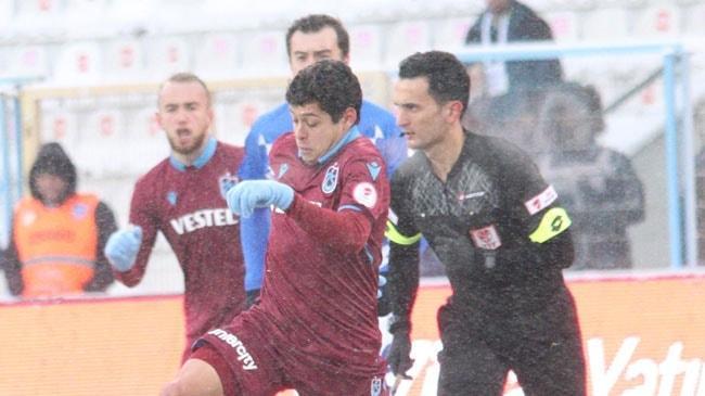 Trabzonspor Ziraat Türkiye Kupası'nda B.B. Erzurumspor'u eleyip yarı finale yükseldi