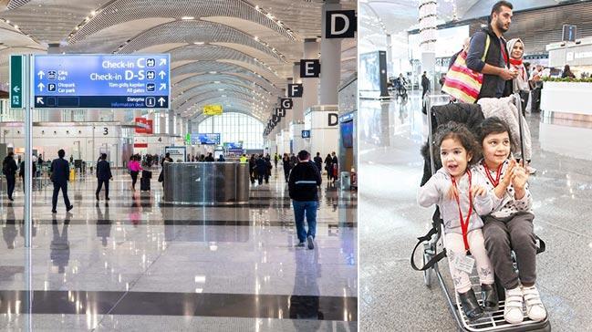 İstanbul Havalimanı'nda ücretsiz bebek arabası