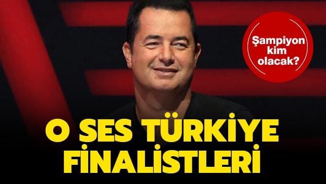 """O Ses Türkiye finali ne zaman, saat kaçta"""" İşte 2020 O Ses Türkiye finalistleri!"""