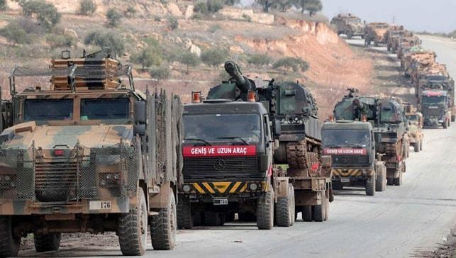TSK'dan İdlib'e yoğun sevkiyat! Yeni görüntüler geldi