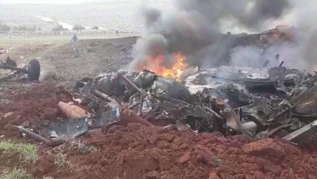 Son dakika haberi: Esed rejimine ait helikopter düşürüldü