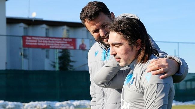 Trabzonspor'da Abdülkadir Ömür 5 ay sonra antrenmanda yer aldı