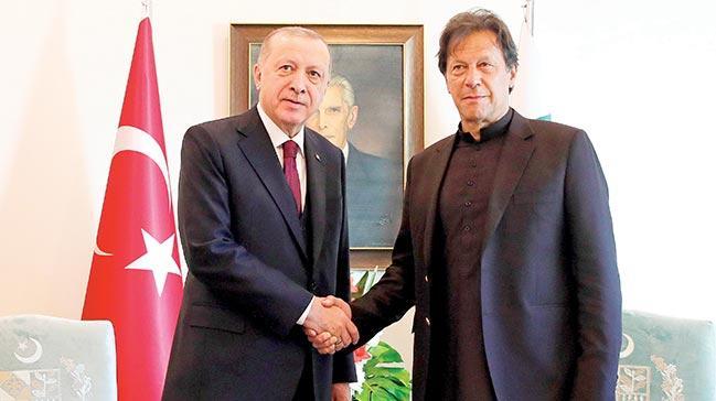 Erdoğan, Pakistan Meclisi'nde dünyaya ilan etti: Dün Çanakkale, bugün Keşmir