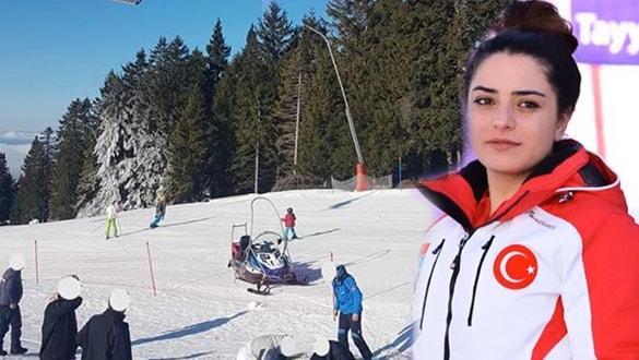 Milli kayakçı yarışma için gittiği ülkede kahraman oldu