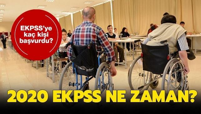 """EKPSS'ye kaç kişi başvurdu"""" EKPSS sınavı 2020 ne zaman"""" ÖSYM Başkanı açıkladı!"""