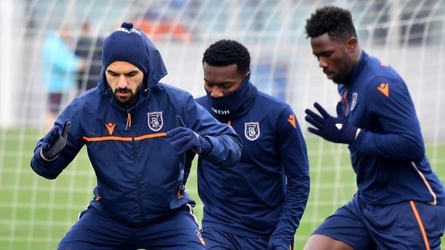 Medipol Başakşehir, Sporting Lizbon maçının hazırlıklarına ara vermeden başladı