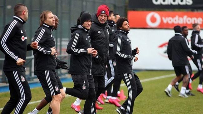 Beşiktaş'ta Trabzonspor maçı hazırlıkları başladı
