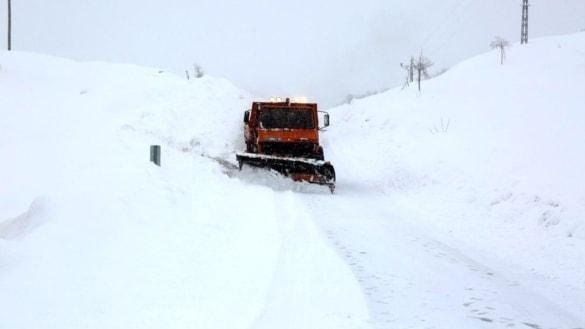 Sivas'ta 294 köy yolu ulaşıma kapalı