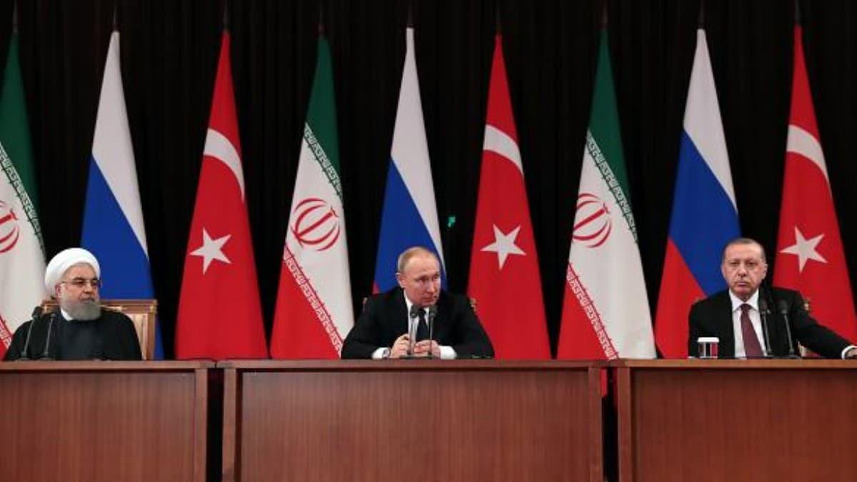 Türkiye, Rusya ve İran, İdlib konusunu görüşmek üzere martta bir araya gelecek
