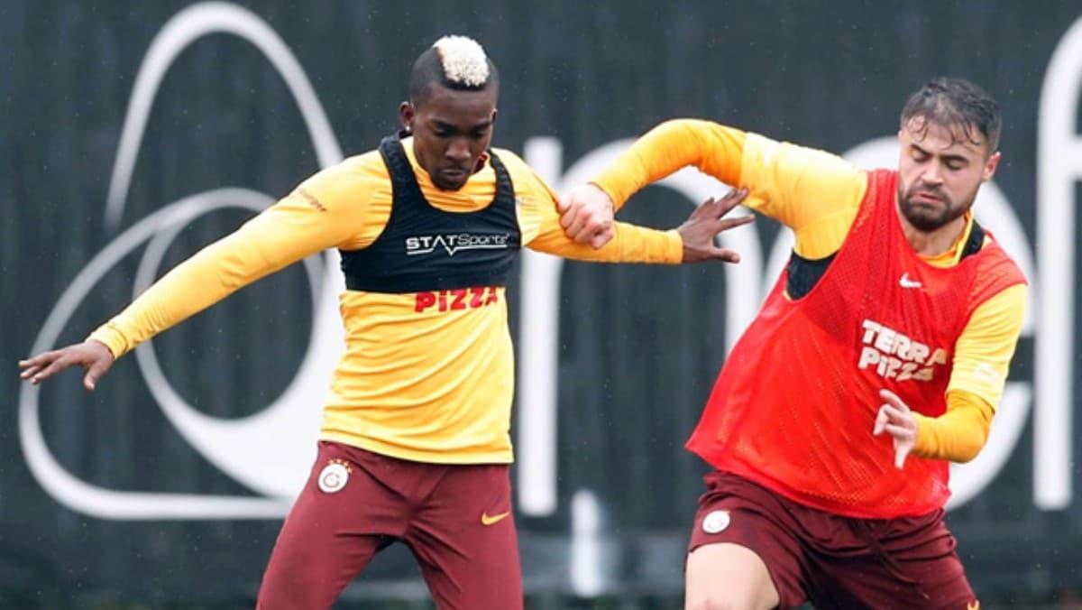 Galatasaray'da Fenerbahçe derbisinin hazırlıkları sürüyor