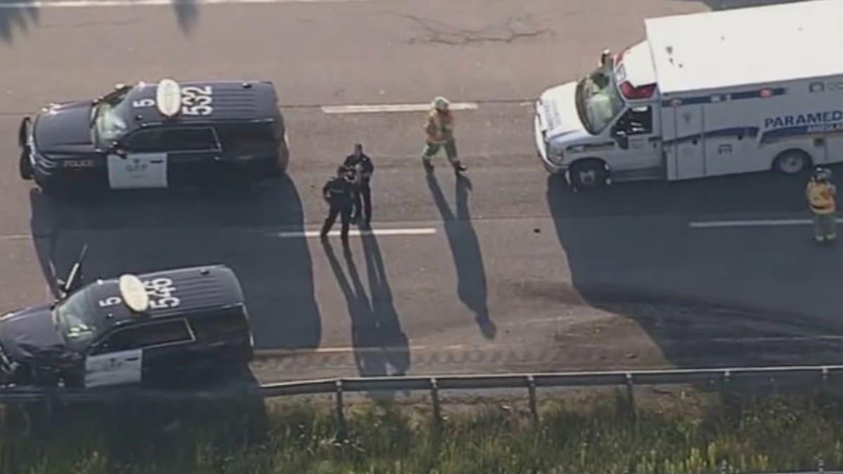 Kanada'da 200 araç zincirleme kazaya karıştı: 2 ölü, 70 yaralı